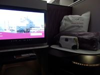 カタール航空で行くマルタとドーハ寄り道弾丸ツアー (往路 Qsuite 他)