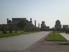 スマホ無しの冒険 シルクロード行き当たりばったり旅㉑ ウズベキスタン随一の名所・青の都サマルカンドへ
