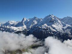 シニアー夫婦のスイスゆっくり旅行30日  (14)シルトホルンに上がりました(10月3日)