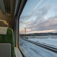 大荒れ予想で渡道旅から一転・普通列車で東北太平洋→日本海を一周!