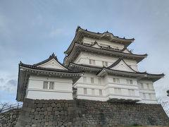 休みを取らずに大改修を終えた小田原城へ