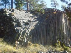 カリフォルニア州  デビルス ポストパイル国定公園