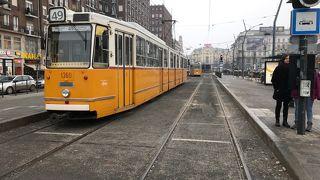 ブダペストで鉄道を観賞する