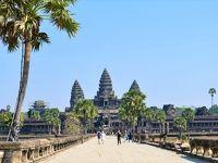 乾季のカンボジアへ 感動の遺跡めぐり旅 その�(念願のアンコールワット)