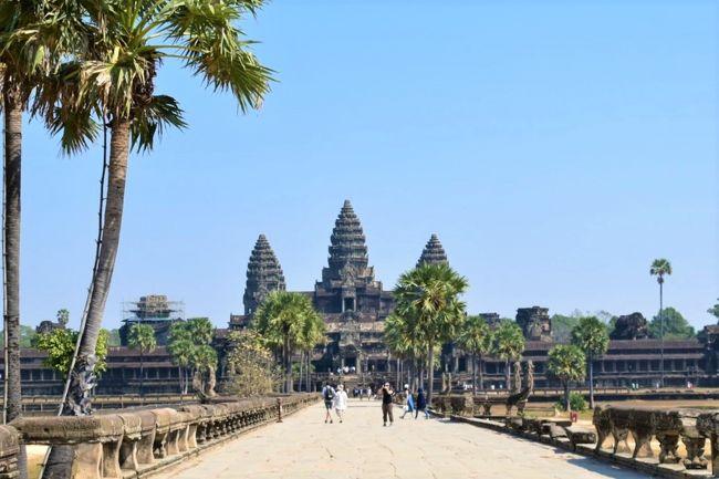 乾季のカンボジアへ 感動の遺跡めぐり旅 その②(念願のアンコールワット)