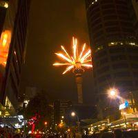 シドニー経由で年末年始のオークランドへ(2014-15年)花火、ロトルア、ワイトモ、町歩き、博物館