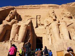 2019年冬季休暇 エジプト縦断旅行 ②アスワン・アブジンベル