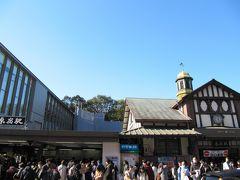 原宿駅舎の新旧交代前にぷらぷら