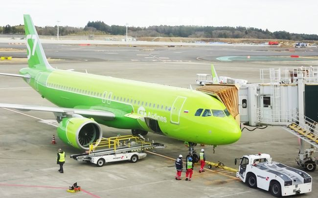 今年の正月休みは久々のひとり旅です。<br />成田からS7航空を利用し、ウラジオストクへ行ってきました。<br />ラウンジ利用や搭乗時の情報をお伝えしたいと思います。