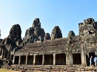 乾季のカンボジアへ 感動の遺跡めぐり旅 その�(アンコール・トム&タ・プローム寺院)
