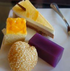 沖縄(3.1) 朝からケーキ三昧。これだから沖縄のホテルステイはやめられない。