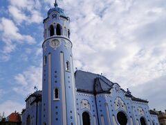 ウイーンから中欧、バルト海を駆け抜けた58日間☆彡 33日目 ・・プラスチラヴァの一番の目的は青の教会・・