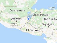 アンティグアからコパンルイナス