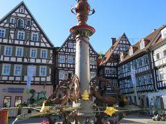 心の安らぎ旅行(2019年春 Schorndorf ショルンドルフ Part1 Marktplatz マルクト広場♪)