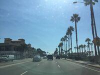 カリフォルニア州 ハンティントン ビーチ − パシフィック コースト ハイウェイ