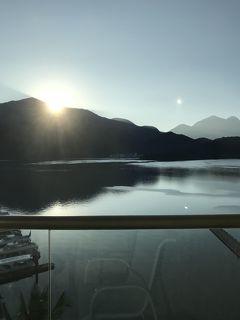 日月潭で日の出を見る がメインの台湾旅 三日目