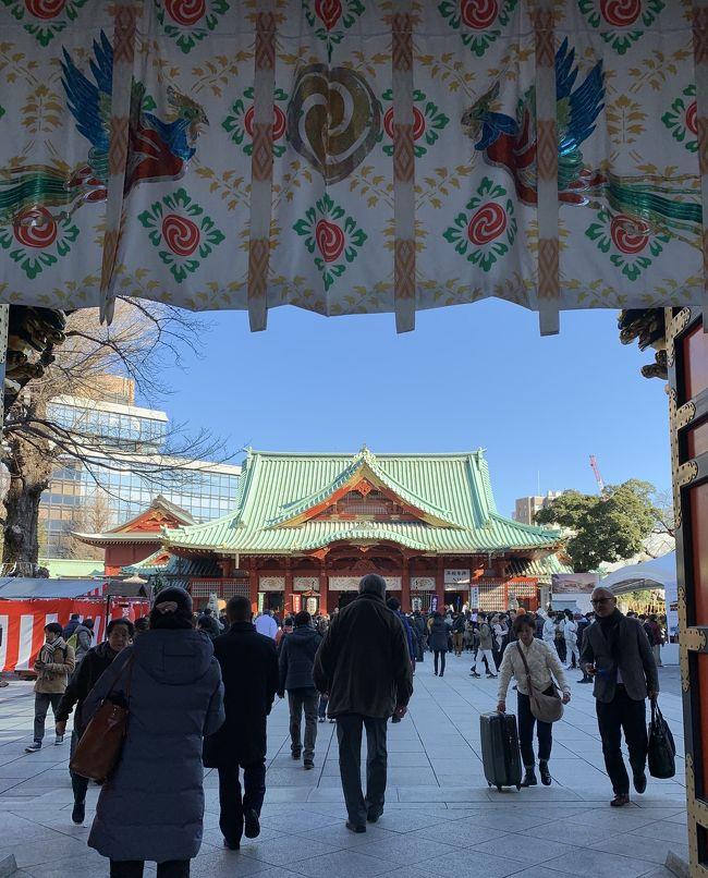 お茶の水駅から神田明神、湯島聖堂。東京ドームを経由して飯田橋の東京大神宮にて御朱印をいただきました。