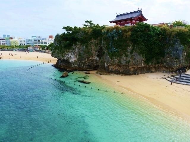 ['20沖縄旅] 今年の初詣は『波上宮』で!「御朱印帳はありません」