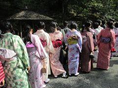 南紀へ(後)ドクターイエロー見てから超ベタな京都観光