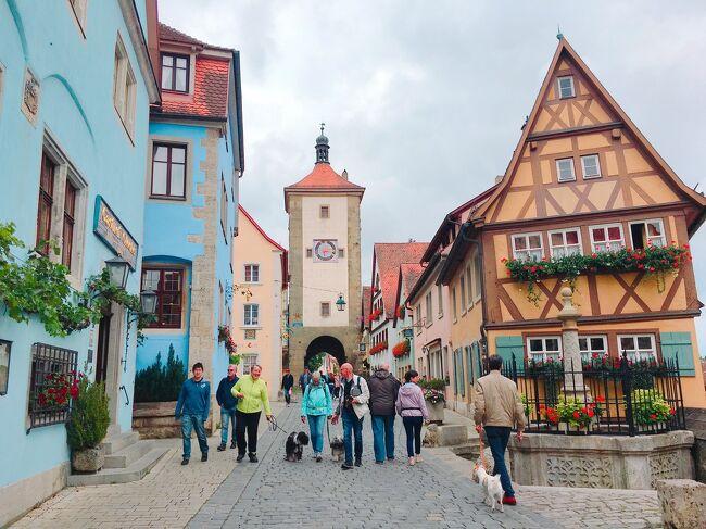 女子大生ドイツひとり旅! ④ローテンブルク観光と街歩き