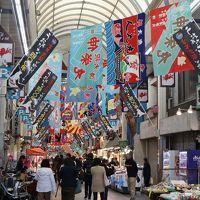 明石 魚の棚商店街を歩く旅