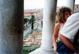 1986年 初自由旅行でヨーロッパ周遊 3週間 7/10 :ボローニャ、フィレンツェ、ピサ、リミニ、ジェノヴァも