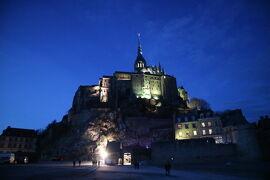 ロンドン・パリ・ディズニーの旅ふたたび4日目~夜景モンサンミッシェルバスツアー