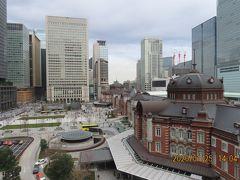 久しぶりにKITTE屋上ガーデンからの東京駅展望