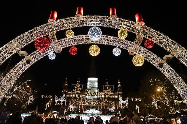 中欧旅行~クリスマスマーケットとザッハトルテとシュニッツェル~ ウィーン編