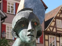 心の安らぎ旅行(2019年春 Schorndorf ショルンドルフ Part4 Schorndorf Mondschein 噴水♪)