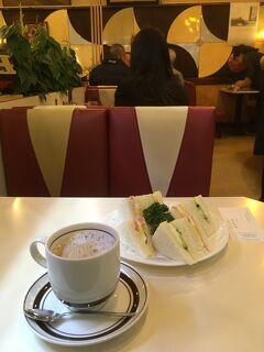 銀座    純喫茶モーニングの旅 2020.01