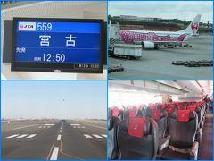 宮古島と沖縄本島(1)宮古島へのフライトはさくらジンベエジェット