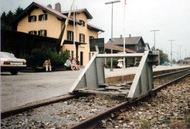 1986年 初自由旅行でヨーロッパ周遊 3週間 8/10 :ノイシュバンシュタイン城