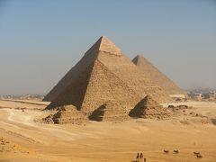 旅行会社の誇大広告に騙された最悪のエジプトナイルクルーズの旅 2 ギザの三大ピラミッド