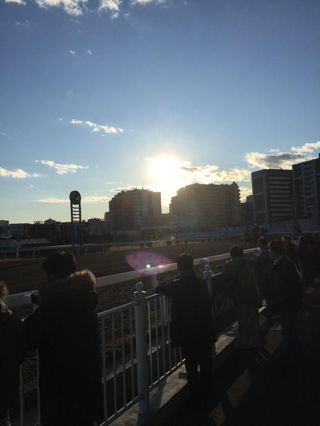 1月は川崎競馬場で始まり、川崎競馬場で終わる。