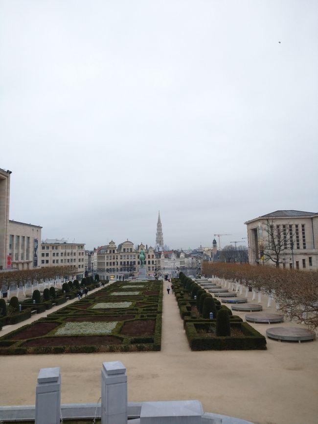 有休消化で少し早めに仕事を納めてベルリン→ブリュッセルに。こんなに長い休みをとったのは、社会人になって初めてでした。<br />経緯や目的は初日( https://4travel.jp/travelogue/11582176 )にダラダラ書いてます。<br /><br />観光客の多い大都市で参考になるところはほぼないと思いますが(笑)、私自身、クリスマスから年末年始をヨーロッパで過ごすのがどんな感じか出発前は不安(お店の開き具合や治安など)もあったので、偶然ここにたどり着いた方に少しでもお役に立てば幸いです。→と思ったけど全然書けてません!<br /><br />大晦日は美術館をまわって街をぶらぶら。初めての海外での年越しは思った以上に楽しかったし不便も怖さもなかったです!<br /><br />Day1 羽田→フランクフルト→ベルリン<br />Day2 ベルリン<br />Day3 省略<br />Day4 ベルリン<br />Day5 ベルリン<br />Day6 ベルリン→ブリュッセル<br />Day7 ブリュッセル<br />Day8 ブルージュ<br />Day9 ブリュッセル(★ここの日記)<br />Day10 ブリュッセル→フランクフルト→羽田