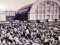 リガの市場にて
