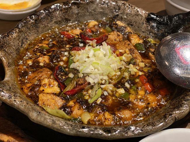 世界一美味しい麻婆豆腐を食してきました。<br />本当は、鍋から始まるコースを選択したのですが、なぜか麻婆豆腐も食べたくなり注文したのでした。