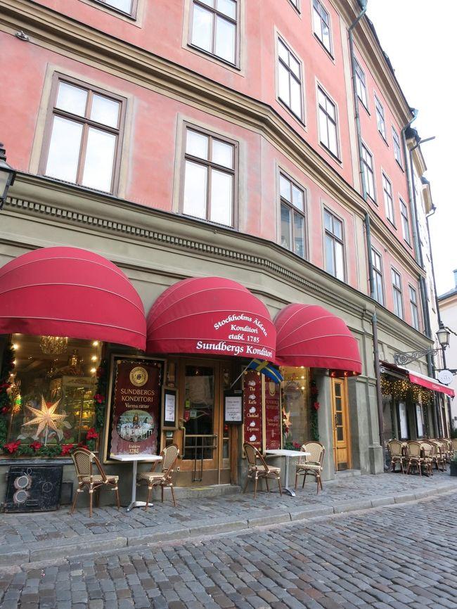 ヘルシンキから日帰りでストックホルムへ。<br />初めまして、スウェーデン♪