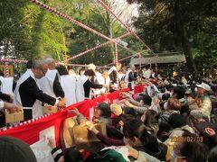 流山市の大堀川周辺・駒木諏訪神社・節分祭