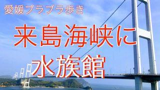 愛媛ブラブラ歩き・・来島海峡SAに水族館ができていた