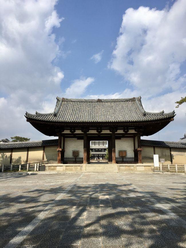 何故だかよくわかりませんが<br />「法隆寺に行きたい!」と思い<br />奈良の友人に連れて行ってもらいました。