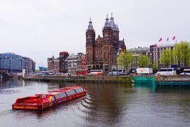 2018GWオランダ・ベルギー美術ざんまいの旅(3)シンゲル運河の花市