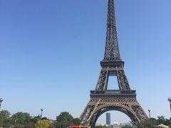 ユーロレイルパス妊婦4泊5日フランス、ロンドン、ベルギーの旅 (2日目パリ)
