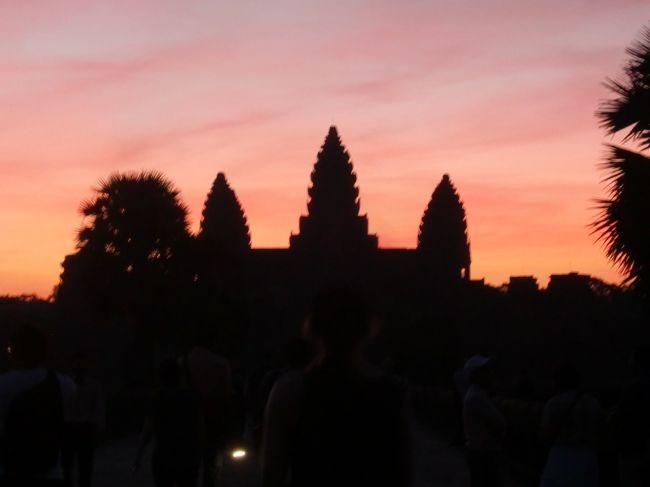 母とカンボジアツアー 2