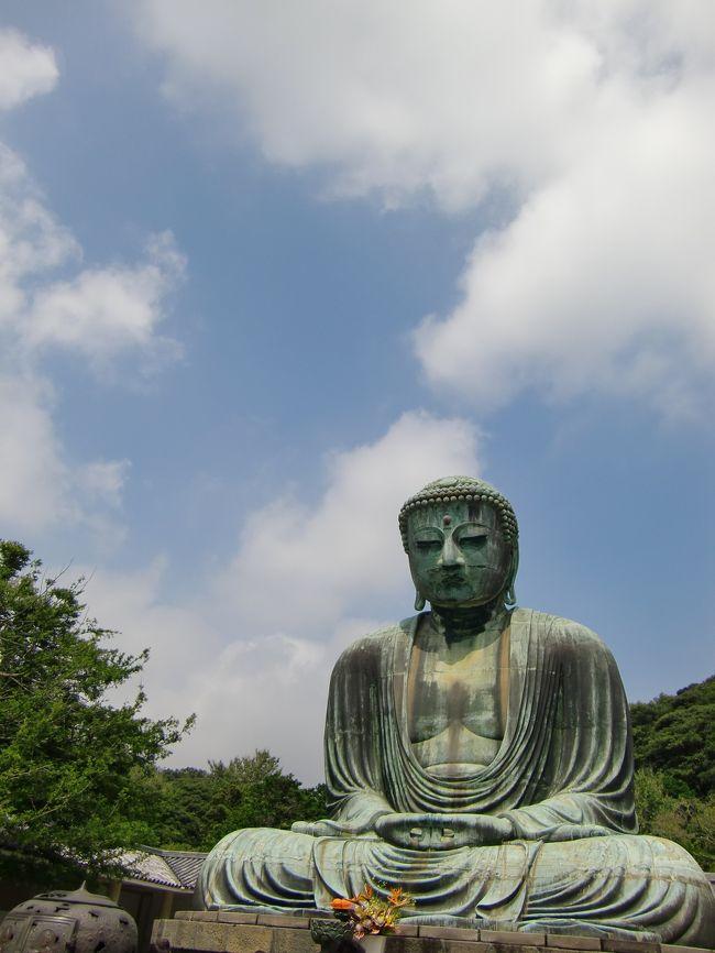 カンボジアの帰り、国内線接続時間が長かったので鎌倉へ立ち寄ってみました。