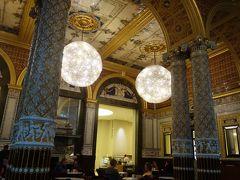 London(2.3) Victoria & Albert Museum を訪ねる。目的はもちろんティー・ルーム。