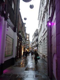 London(2.8) St. Christopher's Place はステキな小路。考えた街づくりをする人がいるのです。
