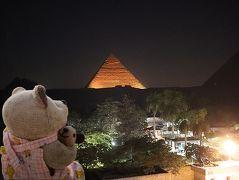 8年ぶり8度目のエジプト8日間(9)ピラミッド音と光のショーでパトカーが(0_0)