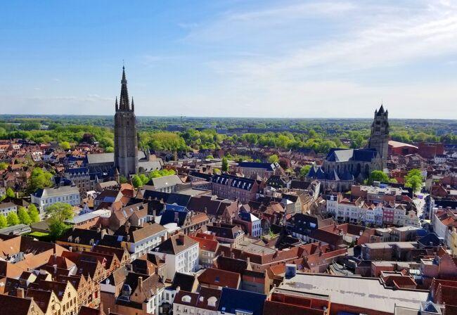 2018GWオランダ・ベルギー美術ざんまいの旅(19)ブルージュの聖母教会とマルクト広場